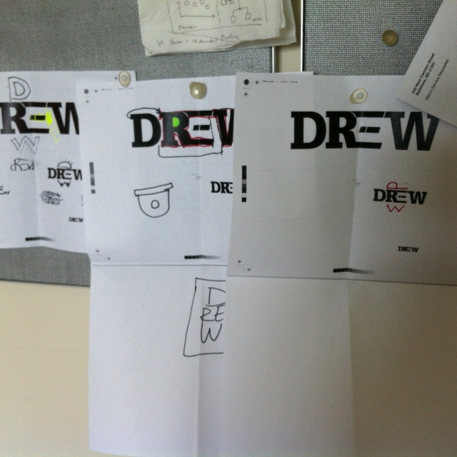 DREW Logo Design Project Photo