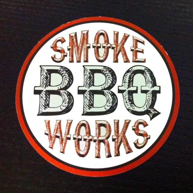 Smoke Works BBQ, Business Card Front